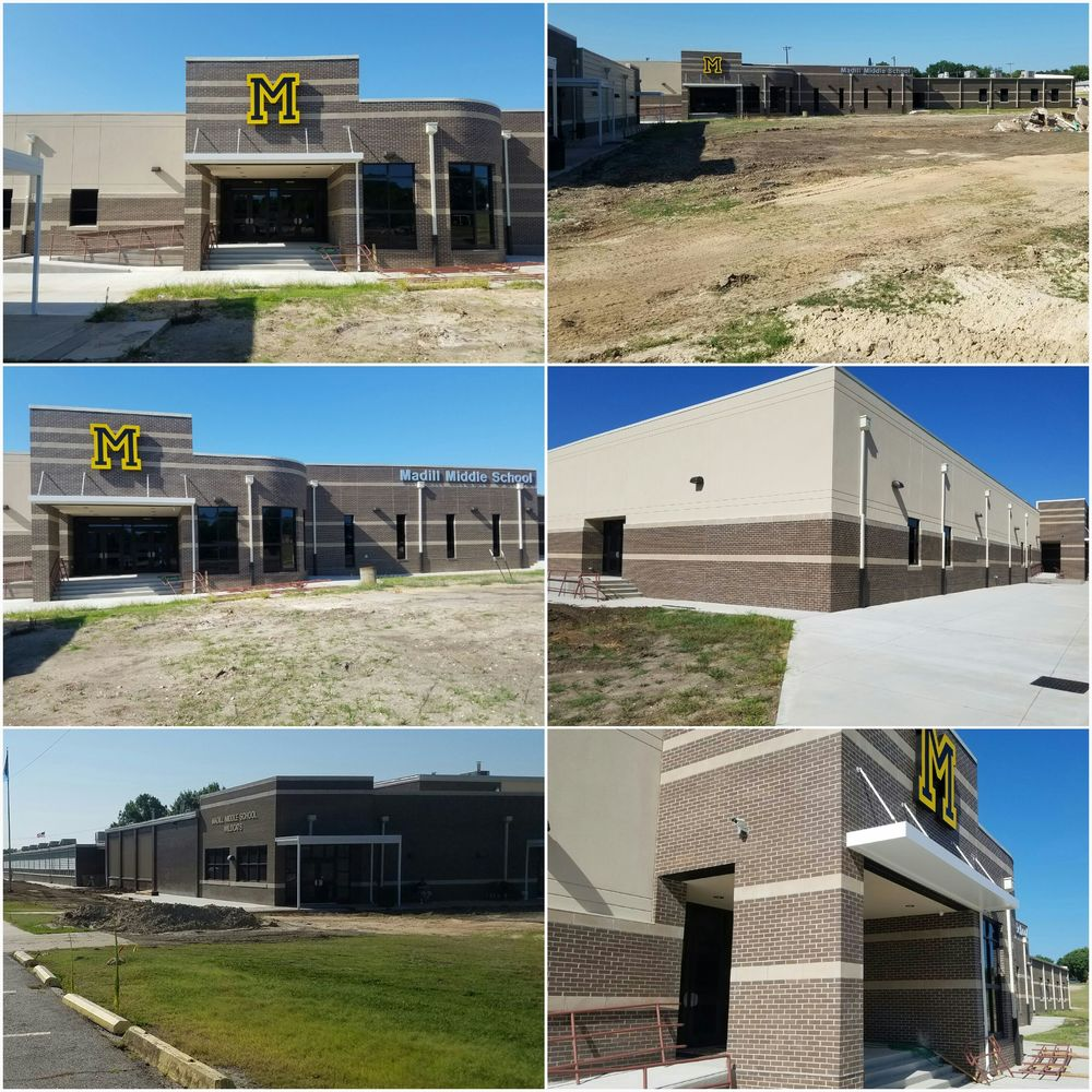 Madill Middle School Construction Nearing Completion