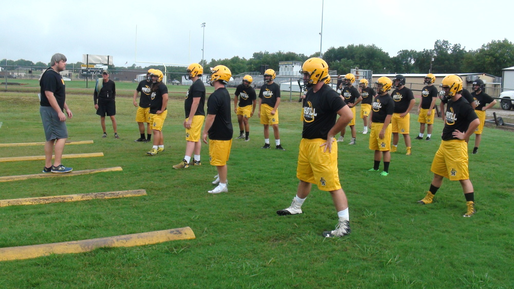 Madill Football Picture Day Aug. 12; Photos in Afternoon