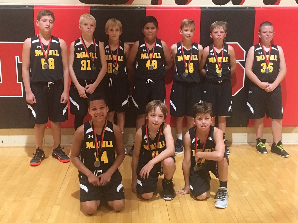5th Grade Boys place 2nd in Tournament